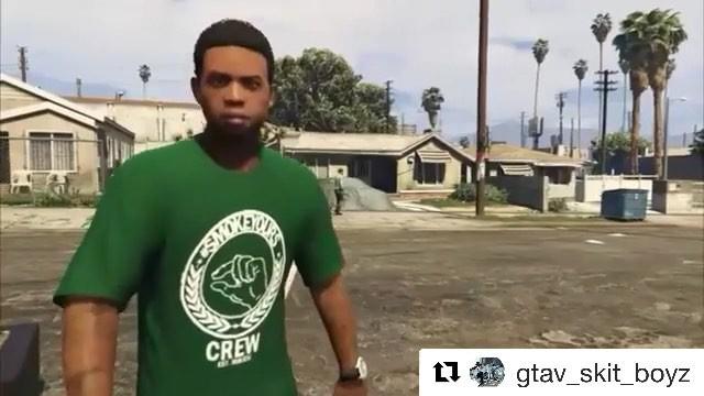 "Slink Johnson on Instagram: ""LamarDavis outchea tryna SMOKEYOURS @gtav_skit_boyz on the cut! Follow them for more funny videos and clips! SMOKEY..."