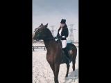 Karalash. Horseback riding.