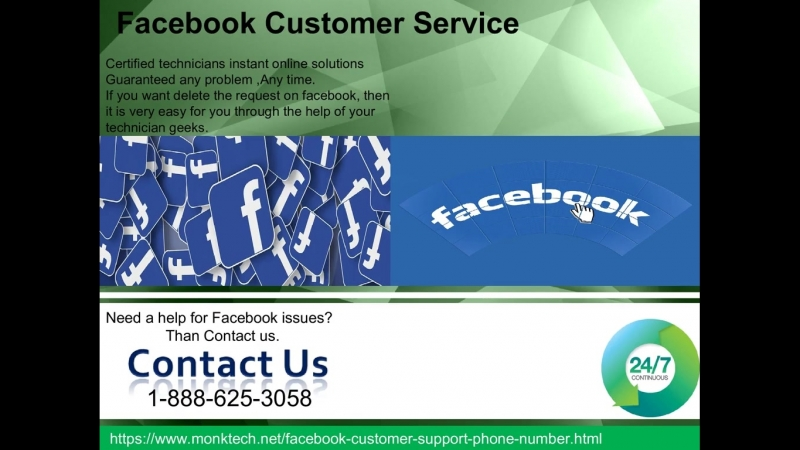 Dont wait, get instant support on Facebook Customer Service 1-888-625-3058