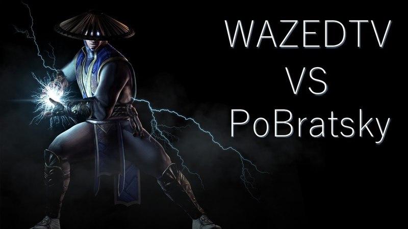 Выходим из прессинга! PoBratsky (Tremor, Raiden) vs WAZED TV (D'Vorah, Raiden)