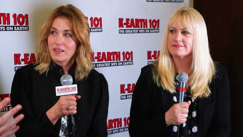 Larry Morgan and The Bangles talk Totally 80s Live
