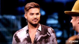 Boy George's Buddy 'Adam Lambert' Surprise Visit - The Voice Australia 2018