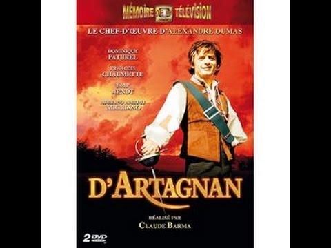 Mini-série D'Artagnan 1969 époque 4/4 : Le Masque de fer avec Dominique Paturel François Chaumette