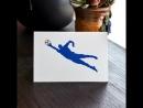 Футбольные поздравительные открытки.
