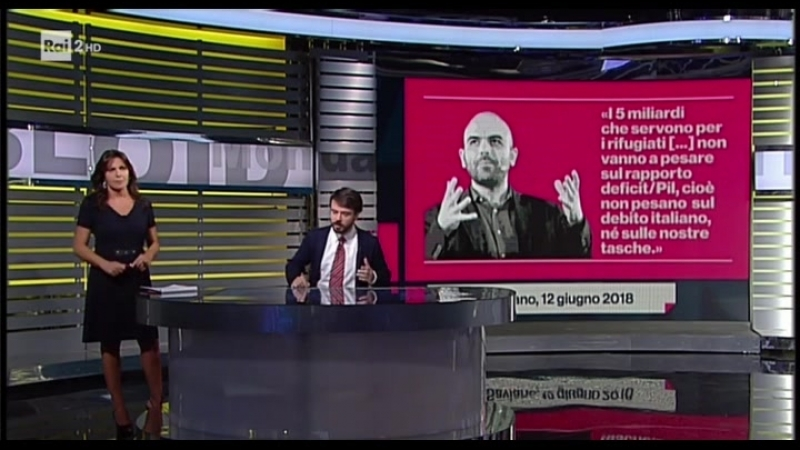 Gli Economisti Bugiardi Roberto Saviano Tommaso Ederoclite