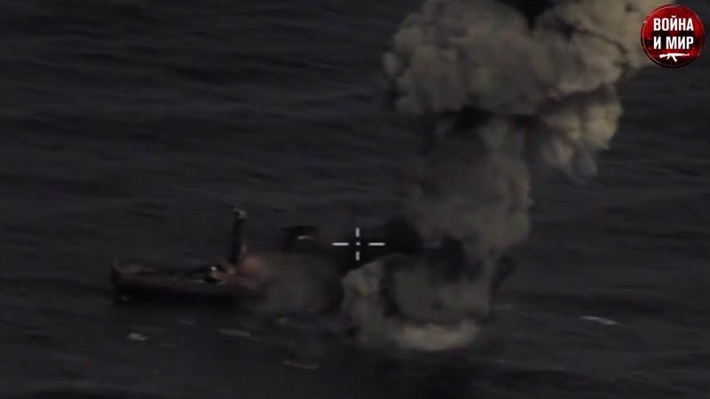🔥Су-34 уничтожил корабль ракетой Х-35У.