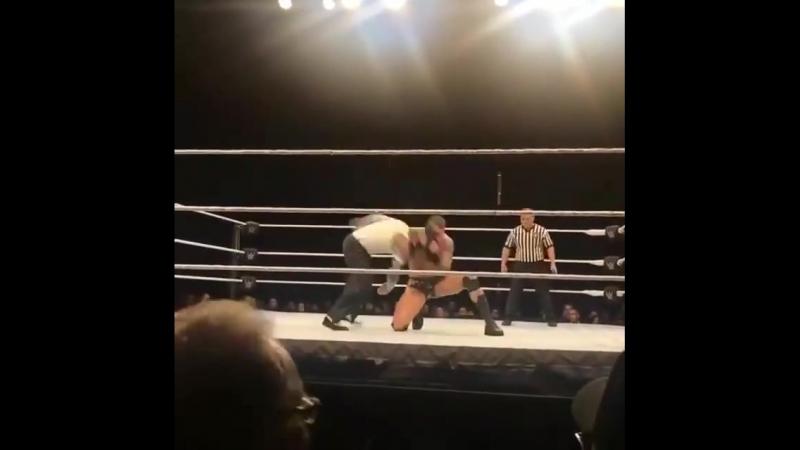 WWE House Show: Jeff Hardy vs. Shinsuke Nakamura vs. Randy Orton USA Title Match