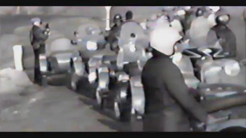 Мото-Шоу, г.Ирбит 1991г., видео Алексея Долгополова c коррекцией пропорций кадра