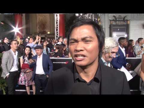 Furious 7 Tony Jaa Kiet Exclusive Premiere Interview - Beat Up Paul Walker การสัมภาษณ์