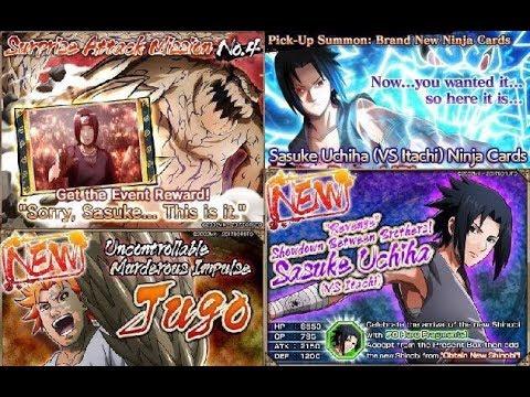 Naruto x Boruto Ninja Voltage Посмотрим на обнову вместе *_*