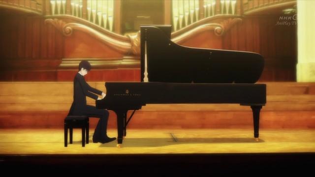 Рояль в лесу 10 серия [Русские субтитры AniPlay.TV] Piano no Mori