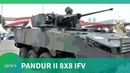 Indo Defence 2018: Pandur II 8x8 Infantry Fighting vehicle
