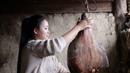 卸了今年最后一只火腿做个豌豆火腿焖饭,犒劳一下自己和家人【滇西 23567