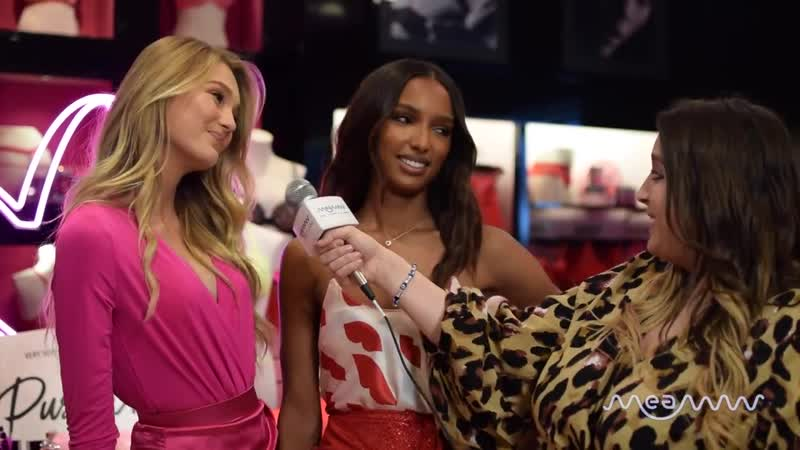 Victoria's Secret angels Romee Strijd and Jasmine Tookes on all things Valentines ( 720 X 1280 ).mp4