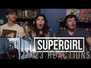 Supergirl 3x23 Battles Lost and Won Reactions