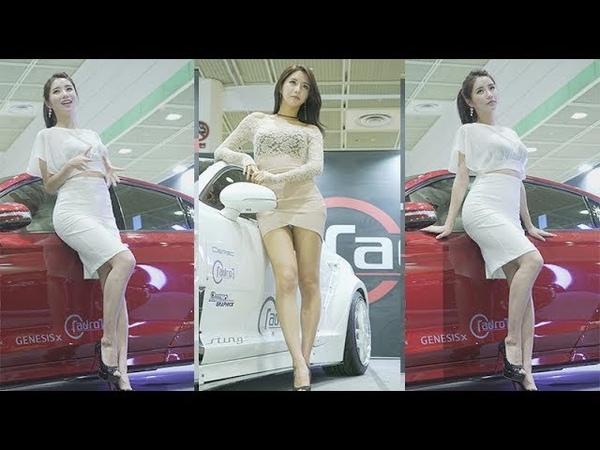 임솔아 레이싱모델 Korean Model (2018 서울오토살롱 Seoul Autosalon) 직캠 Fancam kpop 180721