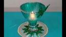 Best out of waste candle holder