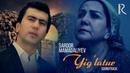 Sardor Mamadaliyev - Yig'latur | Сардор Мамадалиев - Йиглатур (soundtrack)