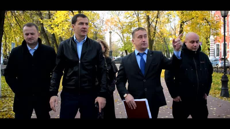 Владимир Волков завершил комиссионный осмотр районов Ярославля