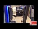 اقتحام سيارة مول برجمان في دبي فرع بنك دبي ا