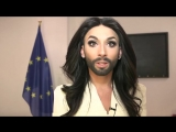Conchita Wurst brings her message of love and tolerance to the European Parliament