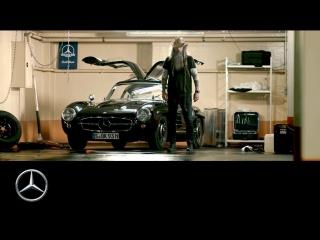Mercedes-Benz 300 SL Gullwing & Magnus Walker: Silvretta 2018