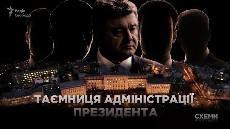Утаємничені візитери Порошенка    СХЕМИ №198