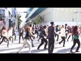 MC HAMMER TOO LET GET (UP-ROCK-BREAKDANCE, JAPAN FLASH MOB)