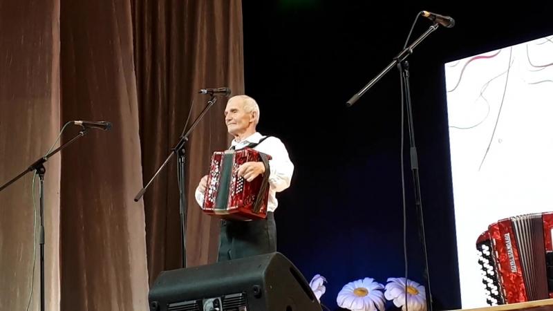 Гармонист Николай Турусов из Саранска на 15-ом Всероссийском фестивале Играй гармонь, г.Иваново, 9-13 июня 2018 года
