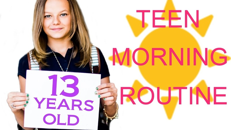 Teen School Morning Routine!