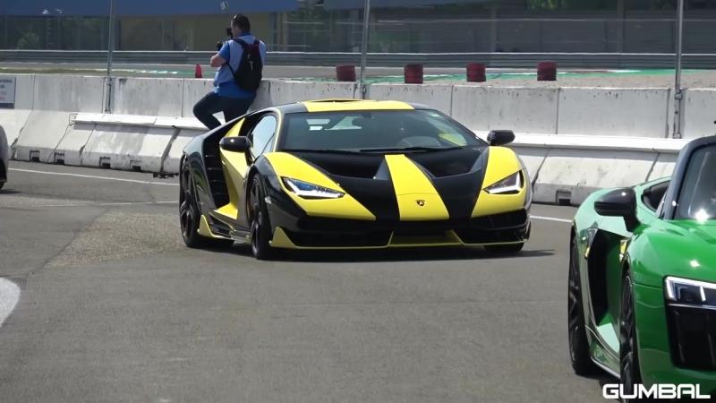 $2.5 Million Lamborghini Centenario Exhaust Sounds