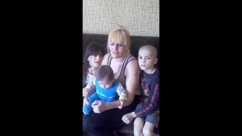 семья обуховых ( кирдяпкеных) просят помощи