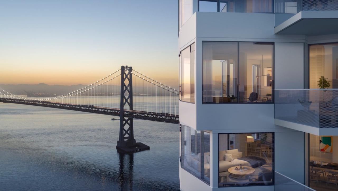 Новая спиральная башня в Сан-Франциско