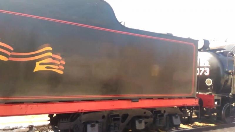 Поезд Победы в Каменске-Шахтинском