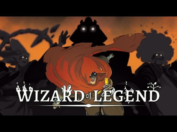 Wizard Of Legends: air magic and anime music