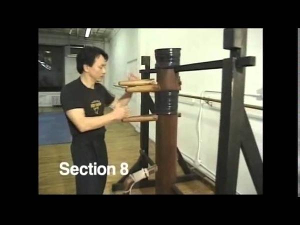 GM Sifu Chow Wing Chun Muk Yan Jong Fast Execution