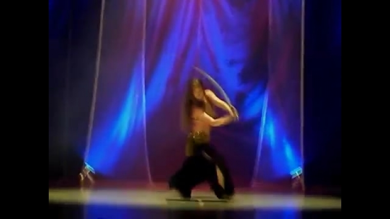 Kalila - Tanec so šabľou (Sword belly dance) 23617