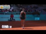Victoria Azarenka vs Aleksandra Krunic.R.1. Madrid Open. Highlights.