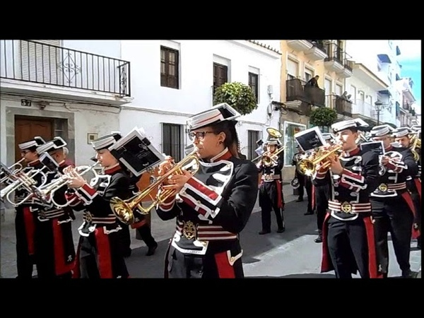 Domingo de Ramos 2018 AM Remedios las mejores marchas Pollinica ALHAURIN de la TORRE 25 03