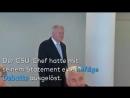 Moslem-Merkel unter Druck- Seehofers Islamkritik wird von der gesamten CSU unterstützt