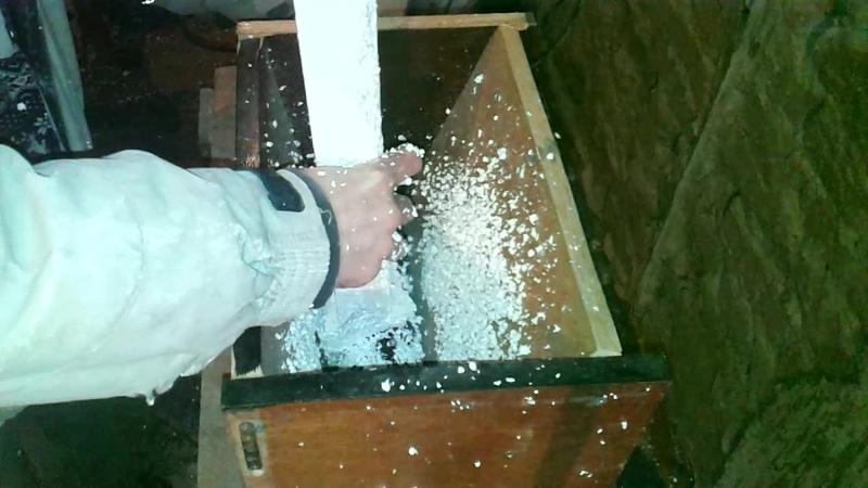 Дробилка для пенопласта своими руками Crusher for the foam with your hands