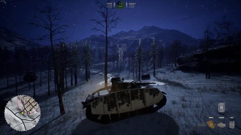 BattleRush : Ardenne Assault : Early access Gameplay (Maxed, GTX 1050)