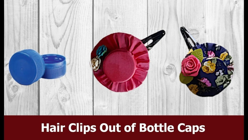 Hairclips Handcraft Handmade Hair Clips Out of Bottle Craft Tutorial Aloha Crafts