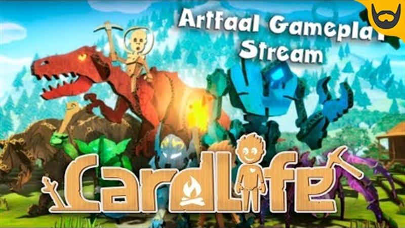 Картонный майнкрафт Стрим CardLife: Creative Survival [PC]