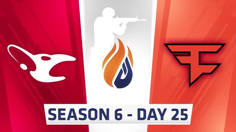 ECS Season 6 Day 25 Mousesports vs Faze - Mirage