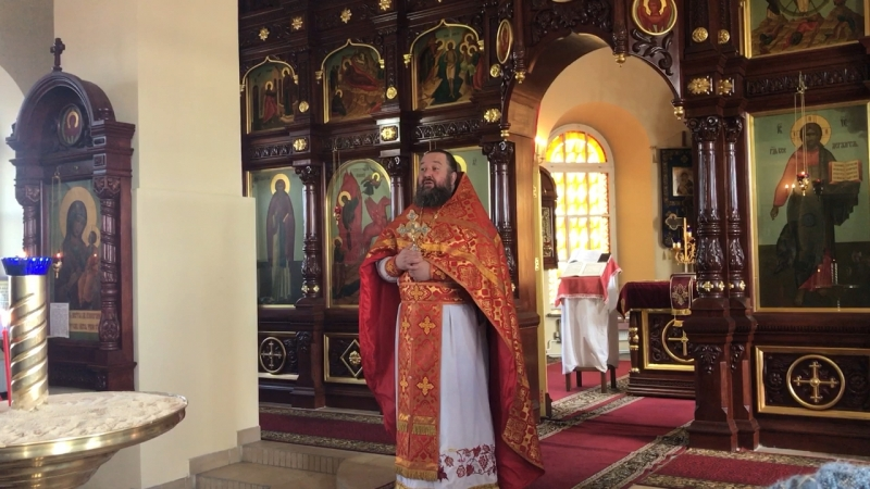 Проповедь о Леонида в день Жен мироносиц