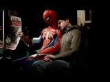 Геймплейный трейлер открытого мира в Spider-Man.