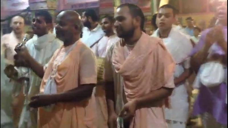 Шрипад БВ Шридхар Махарадж - киртан в РСГМ (18.04.2018, Акшая-тритья)