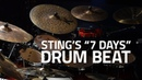 How To Play Sting's 7 Days Drum Beat Drum Lesson Drumeo