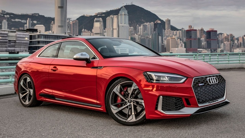 2019 AUDI RS5 TAKING OVER HONG KONG CITY - The 450hp600Nm beauty in details
